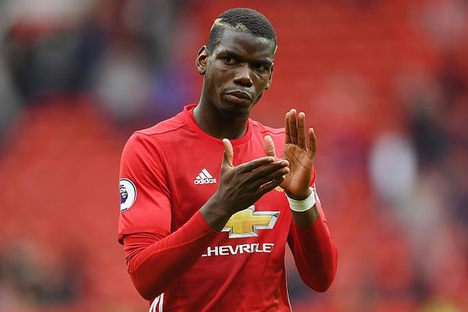 Pogba, Mata nhan diem cao nhat sau tran thang Leicester hinh anh