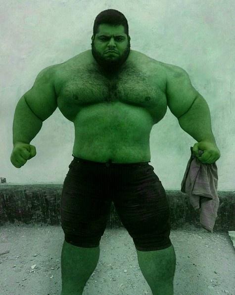 'Nguoi khong lo xanh' Hulk phien ban doi thuc hinh anh 2