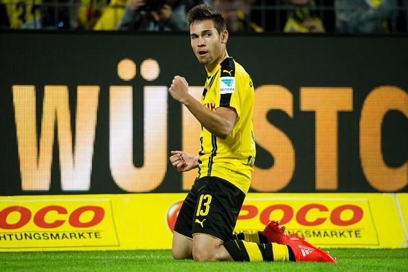 Aubameyang dan dau sieu doi hinh ket hop Dortmund - Real hinh anh 6
