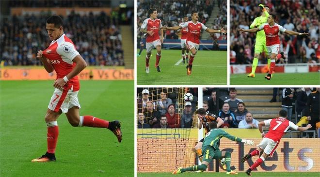 Arsenal thang de, PSG vat va loi nguoc dong truoc Ludogorets hinh anh 5