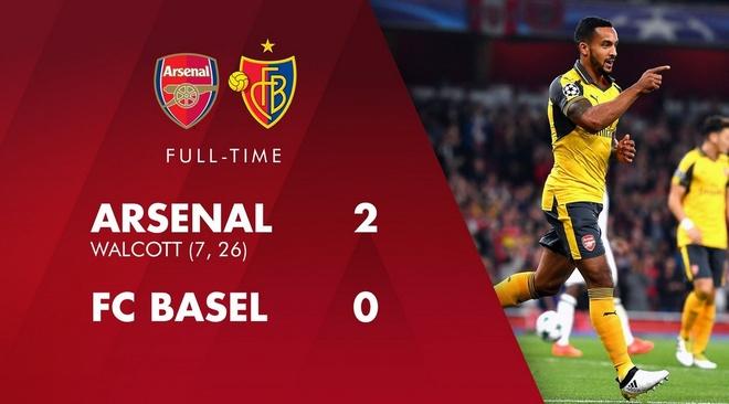 Arsenal thang de, PSG vat va loi nguoc dong truoc Ludogorets hinh anh 20