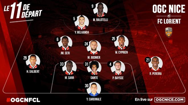 Balotelli lap sieu pham dua Nice tro lai so mot Ligue 1 hinh anh 5