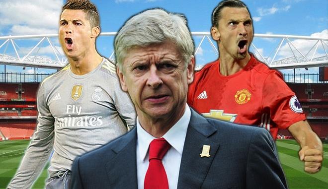 Ronaldo, Ibra va nhung ngoi sao Arsene Wenger mua hut hinh anh