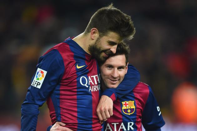 Pique so sanh su ra di cua Messi voi noi dau mat cha hinh anh 1
