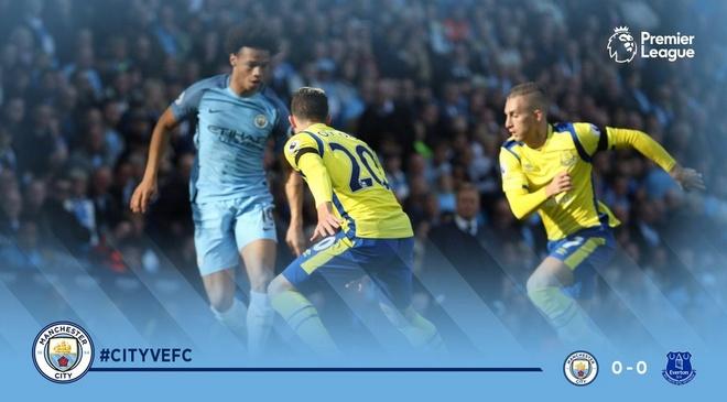 Da hong 2 qua 11 m, Man City bi Everton cam hoa 1-1 hinh anh 10