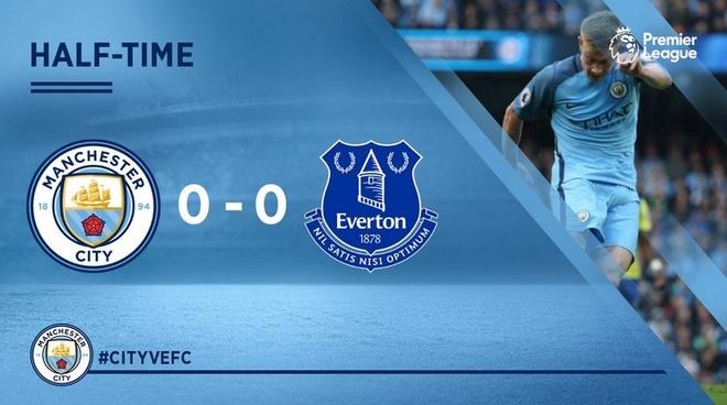 Da hong 2 qua 11 m, Man City bi Everton cam hoa 1-1 hinh anh 17