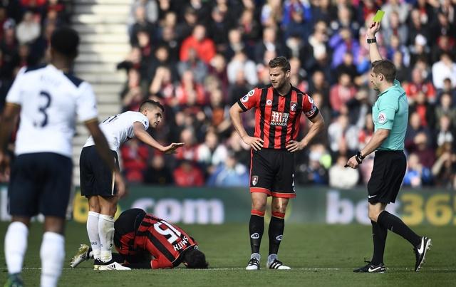 Tottenham bo lo co hoi len ngoi dau sau tran hoa Bournemouth hinh anh 19