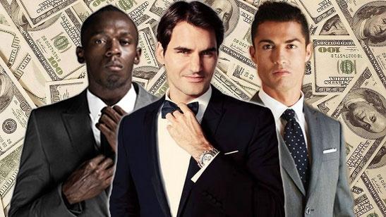 Ronaldo bi Roger Federer bo xa ve gia tri thuong hieu hinh anh