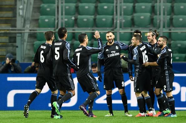 Real Madrid bi Legia cam hoa 3-3 trong tran mua sieu pham hinh anh 10
