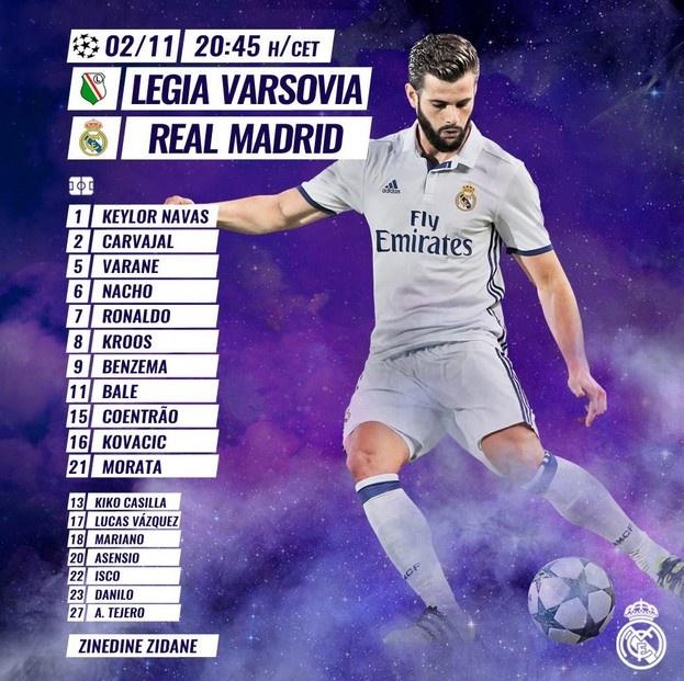 Real Madrid bi Legia cam hoa 3-3 trong tran mua sieu pham hinh anh 2