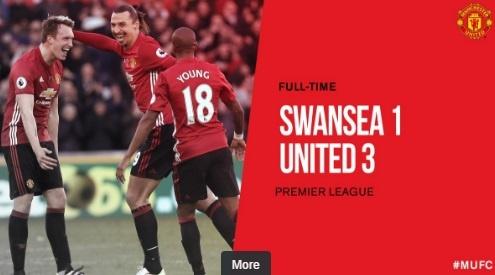 Ibra giai khat ban thang, MU danh bai Swansea 3-1 hinh anh 25