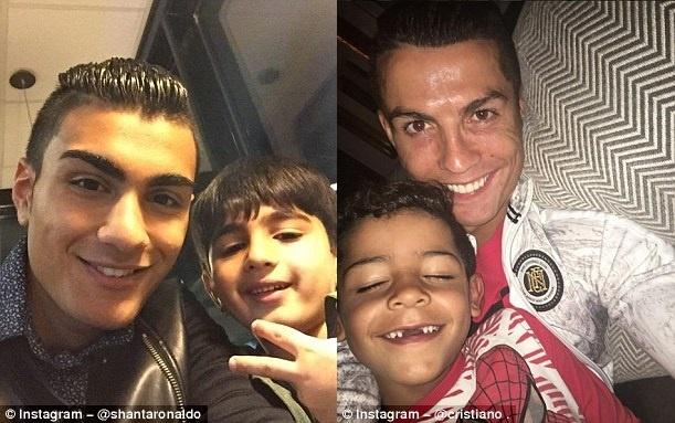 Ban sao Ronaldo mo khoac ao Real Madrid hinh anh 4