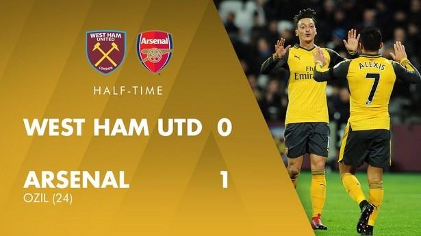 Sanchez ghi hat-trick, Arsenal vui dap West Ham 5-1 hinh anh 11