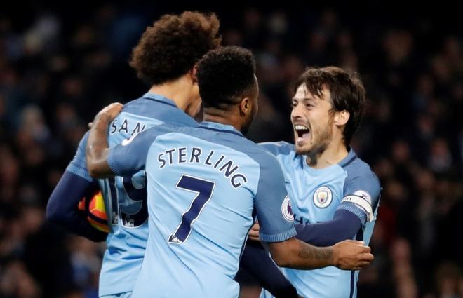 Man City vs Arsenal (2-1): Nguoc dong ngoan muc hinh anh