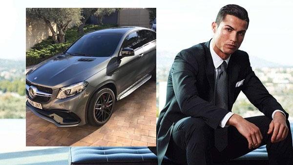 Ronaldo an mung cu dup danh hieu bang xe moi hinh anh