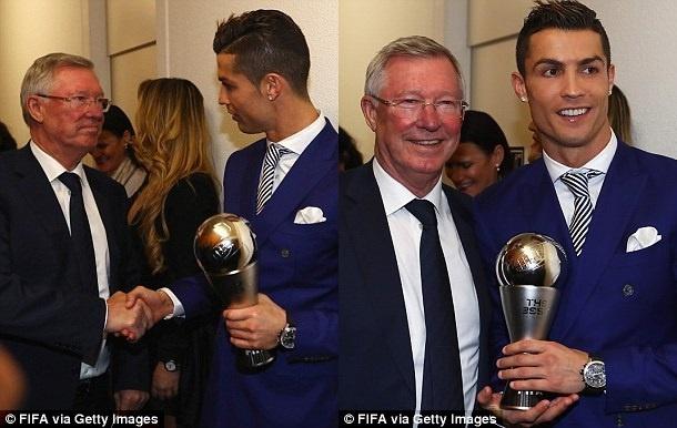 Sir Alex Ferguson - nguoi doi theo tung buoc di cua Ronaldo hinh anh 1