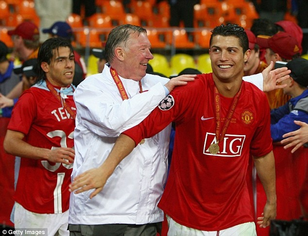 Sir Alex Ferguson - nguoi doi theo tung buoc di cua Ronaldo hinh anh 5