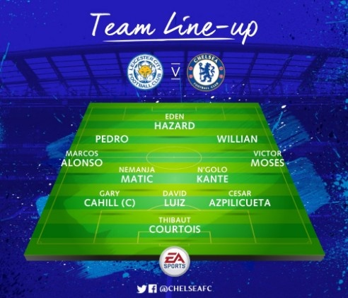 Leicester vs Chelsea (0-3): Marcos Alonso lap cu dup hinh anh 6