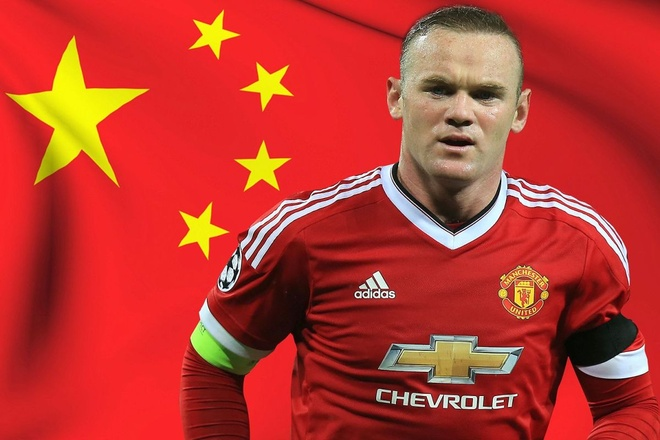 Chuyen nhuong 28/1: Rooney dong y sang Trung Quoc hinh anh 1