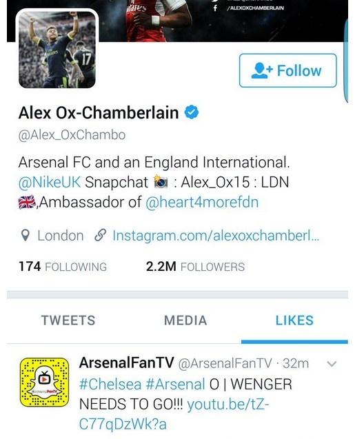 Sao Arsenal gap hoa vi bam thich status 'Wenger Out' hinh anh 1