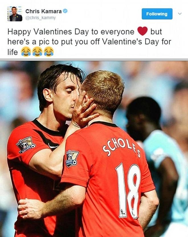 Valentine ngot ngao cua sao bong da the gioi hinh anh 7