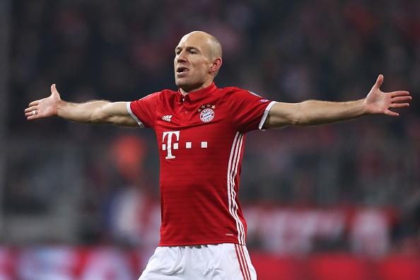 Robben: 'Arsenal phai tra gia vi choc gian chung toi' hinh anh