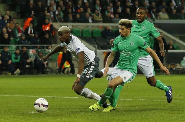 Saint Etienne vs MU (0-1): Eric Bailly nhan the do hinh anh 18