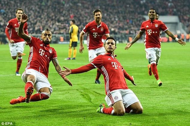 Dan sao Bayern san sang du dai tiec tan cong o Emirates hinh anh 9