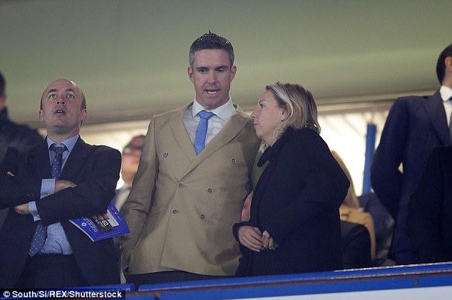Beckham dan dau dan VIP den xem tran Chelsea gap MU hinh anh 7
