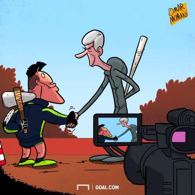 Hi hoa thoi quen khac la cua Messi va Suarez anh 3