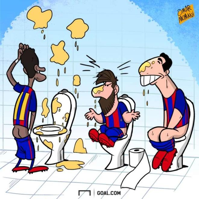 Hi hoa thoi quen khac la cua Messi va Suarez anh 1