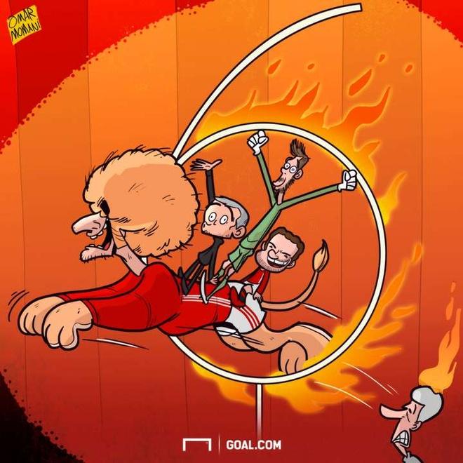 Hi hoa Mourinho xui Oezil cao benh de den MU hinh anh 6