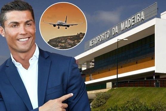 Ronaldo chinh thuc tro thanh ten san bay bat chap tranh cai hinh anh