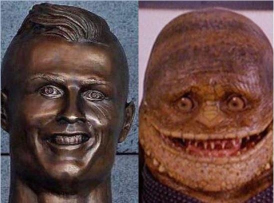 Nha dieu khac giai thich ve buc tuong Ronaldo 'phien ban loi' hinh anh
