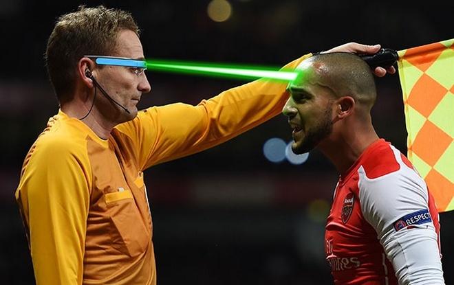 FA thu nghiem kinh laser cho trong tai bien hinh anh