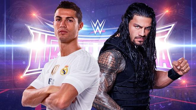 Ronaldo, Messi la ai trong the gioi cua cac do vat WWE? hinh anh
