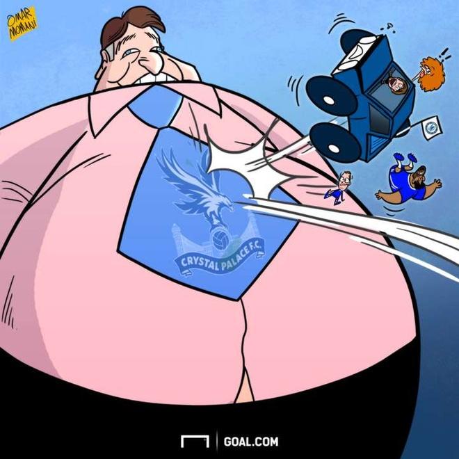 Hi hoa Hazard 'huy diet' Pep Guardiola anh 4