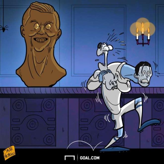 Hi hoa Hazard 'huy diet' Pep Guardiola anh 7