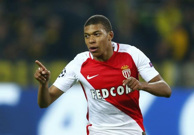 Kylian Mbappe toa sang, Monaco ha Dortmund sau man ruot duoi ty so hinh anh