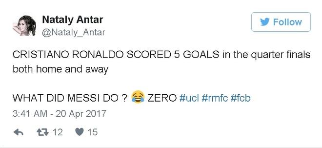 Fan Real ha he truoc su bat luc cua Messi hinh anh 3