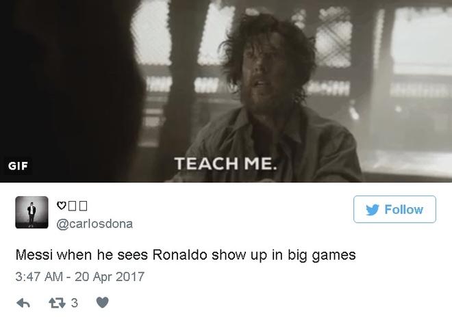Fan Real ha he truoc su bat luc cua Messi hinh anh 4