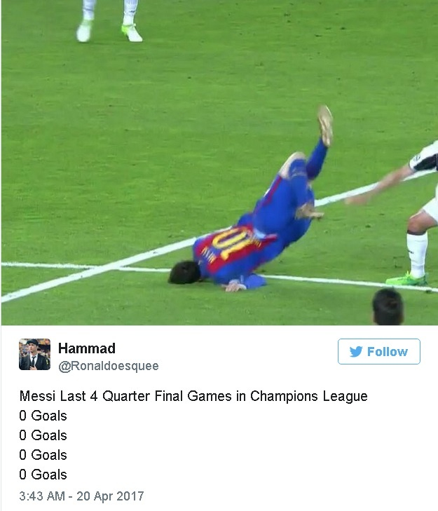 Fan Real ha he truoc su bat luc cua Messi hinh anh 2