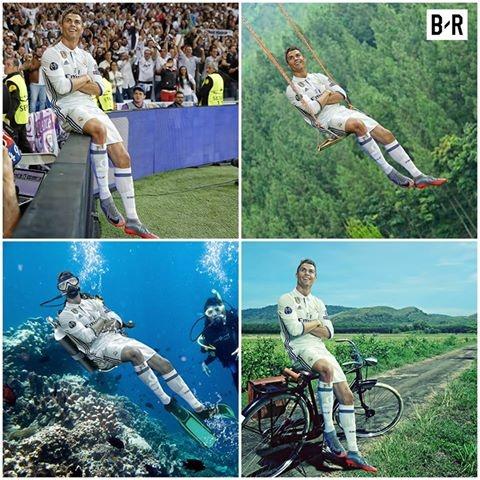 Anh vui Ronaldo lo than phan 'ke huy diet' sau khi de bep Atletico hinh anh 2