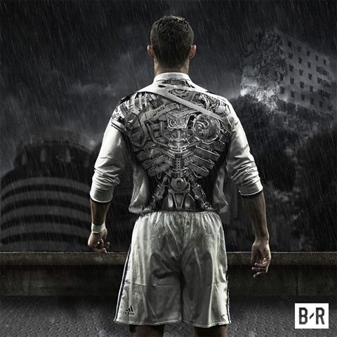 Anh vui Ronaldo lo than phan 'ke huy diet' sau khi de bep Atletico hinh anh 3
