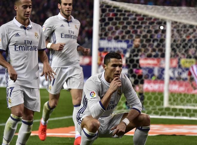Anh vui Ronaldo lo than phan 'ke huy diet' sau khi de bep Atletico hinh anh 9