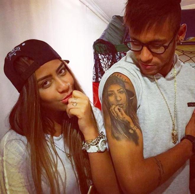 Em gai Neymar gia nhap lang WAGs hinh anh 2