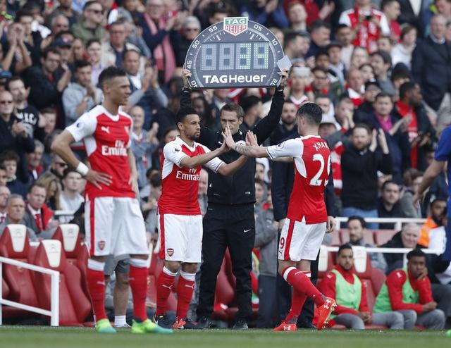 Truc tiep Arsenal vs MU anh 33