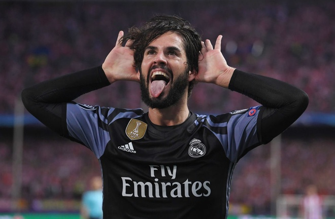 Cham diem Atletico 2-1 Real: Isco len dinh, Ronaldo cham day hinh anh