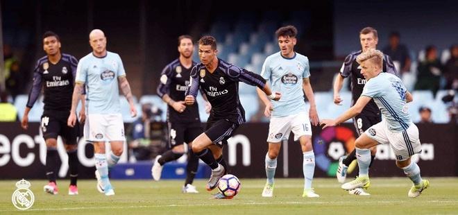 Ronaldo lap cu dup, Real cham mot tay vao chuc vo dich La Liga hinh anh 9