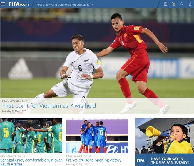 FIFA khen U20 Viet Nam 'nhanh, day suc manh va khat khao' hinh anh 1